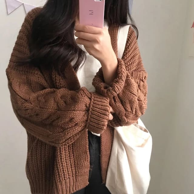 Beige Sweater Outfit